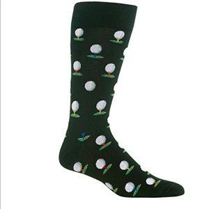 Hot Sox Men's Golf Sock (Olive)